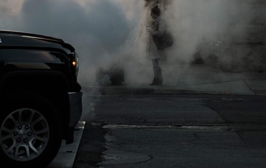 zapobieganie smogowi - ograniczenie ruchu samochodowego