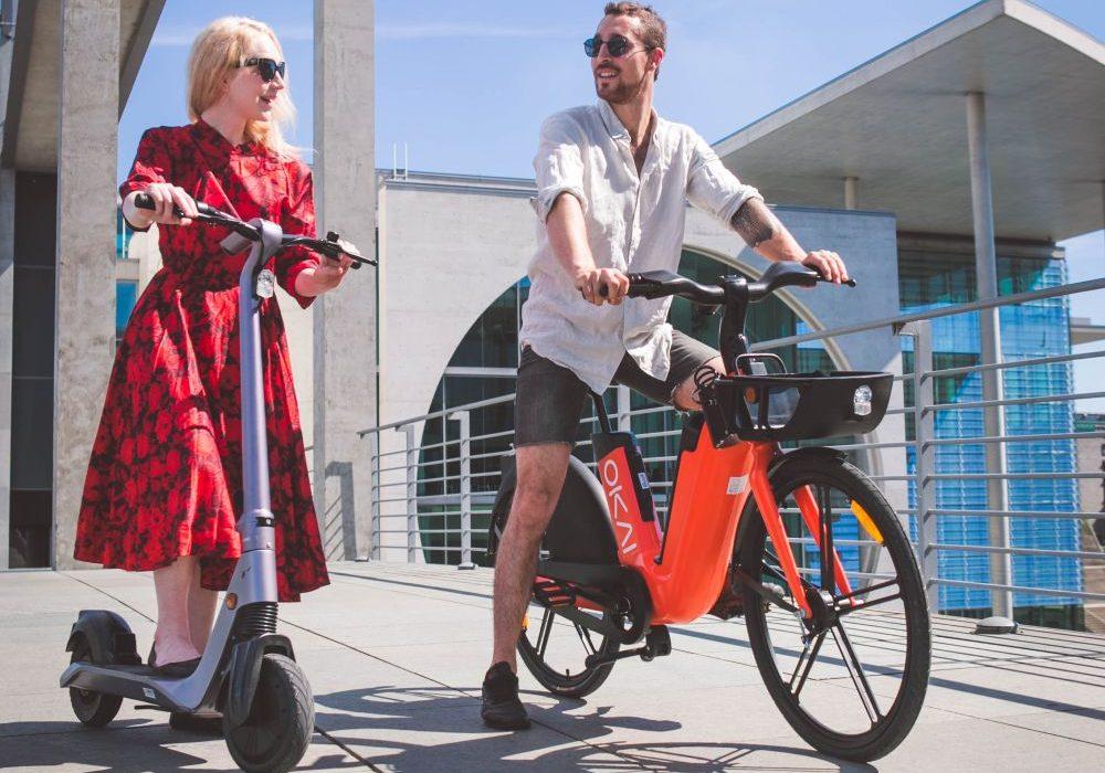 Rower i hulajnoga elektryczne